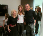 My mom the LQ artist, me and Elle Magazine Creative Director Joe Zee